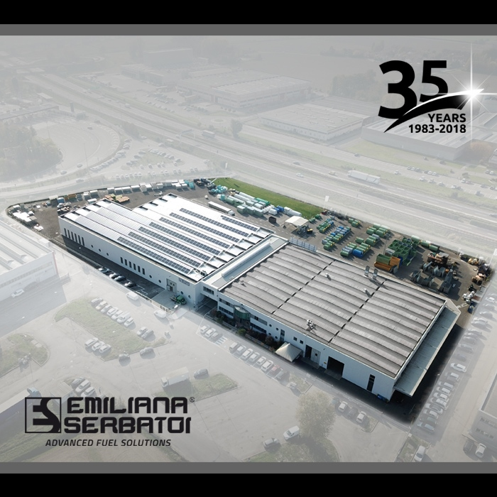 ES focuses on the environment: the photovoltaic plant is operational