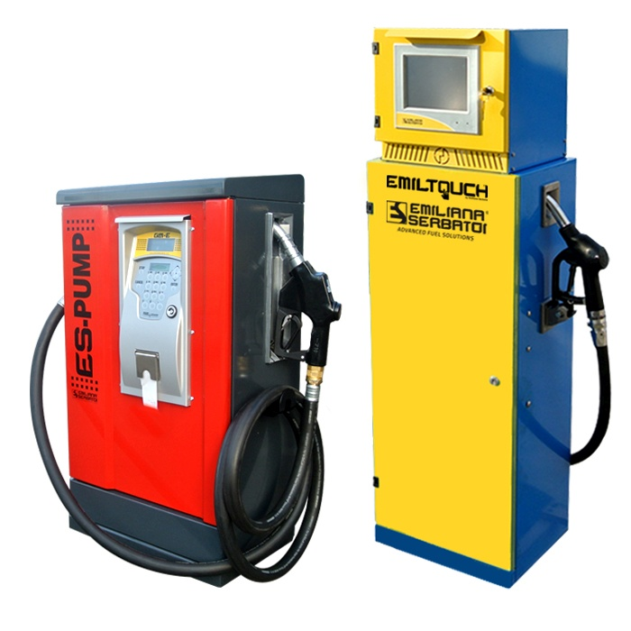Diesel fuel dispensers