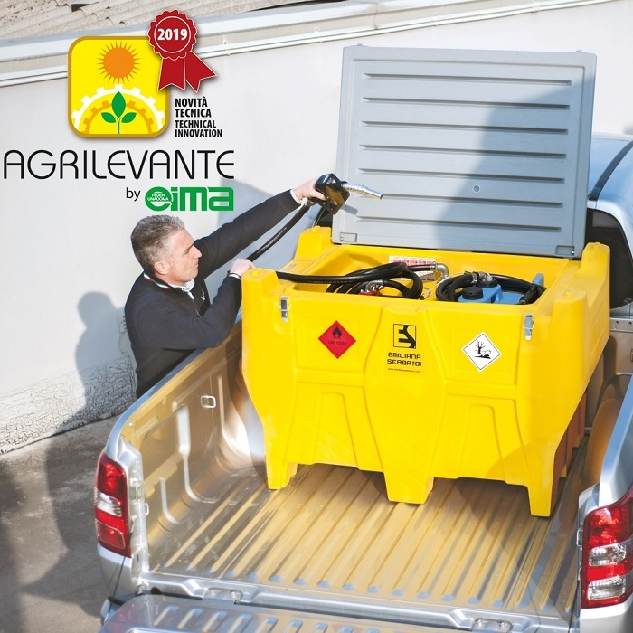 "Carrytank® Pick-up awarded as ""Technical innovation"" at Agrilevante"