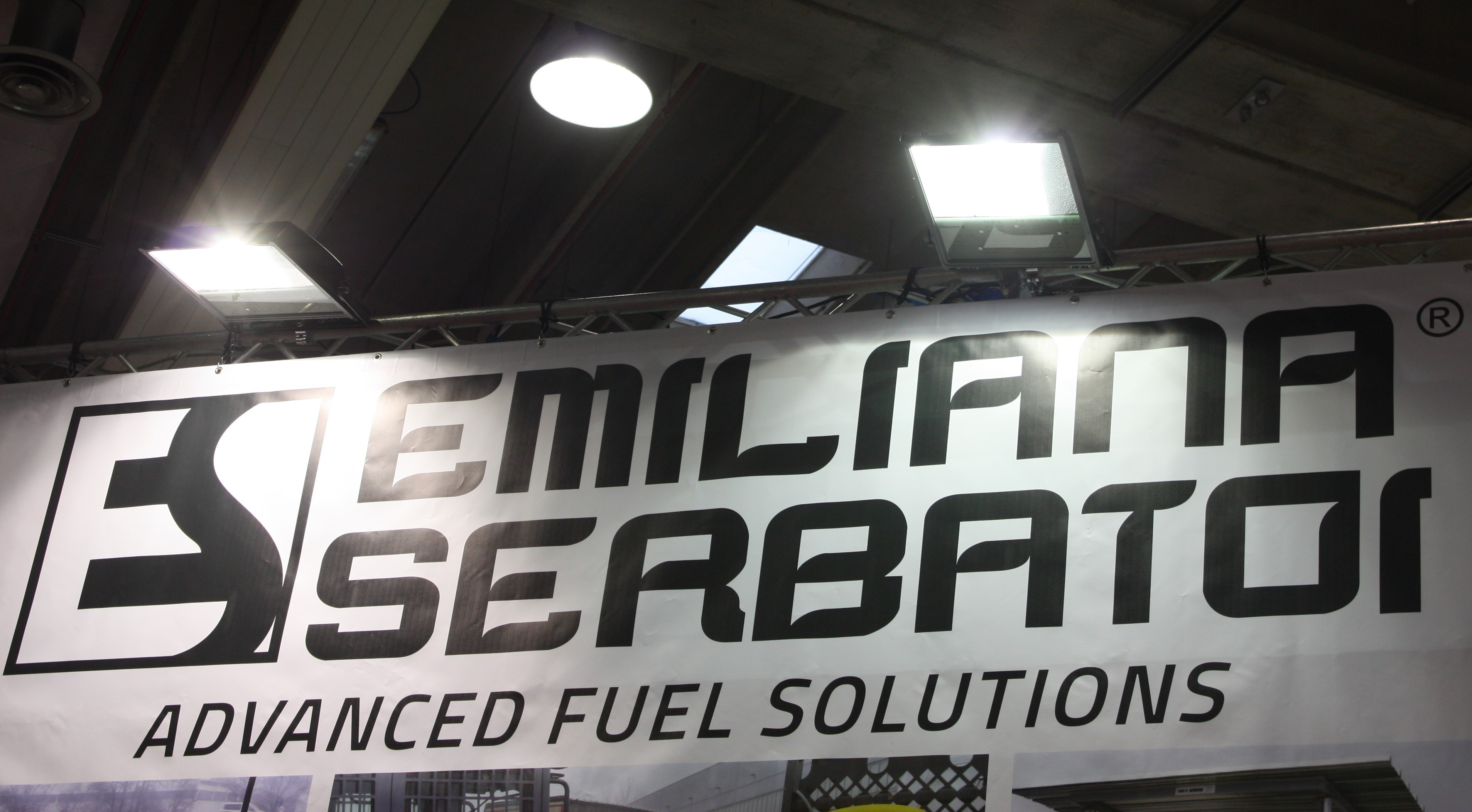 Amazing news at Emiliana Serbatoi's stand at Bauma