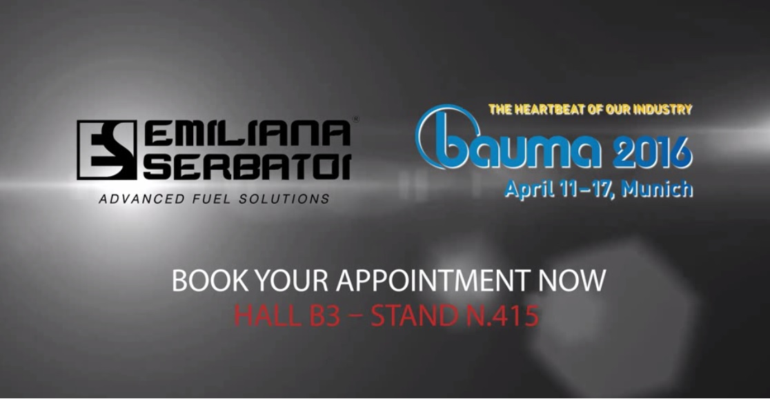 Emiliana Serbatoi around Bauma: here is the video!
