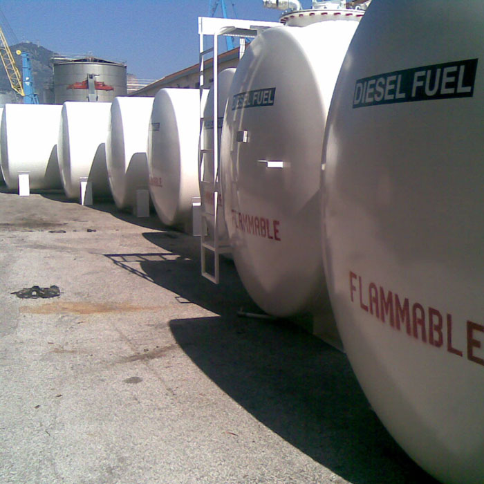 Diesel fuel tanks - United Nations