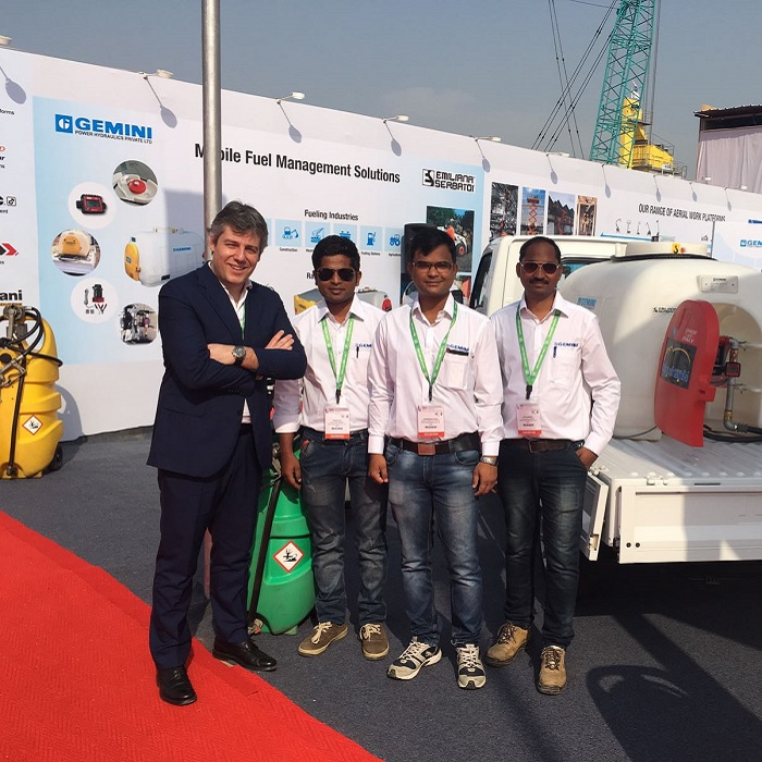 Emiliana Serbatoi too was at Bauma Conexpo India