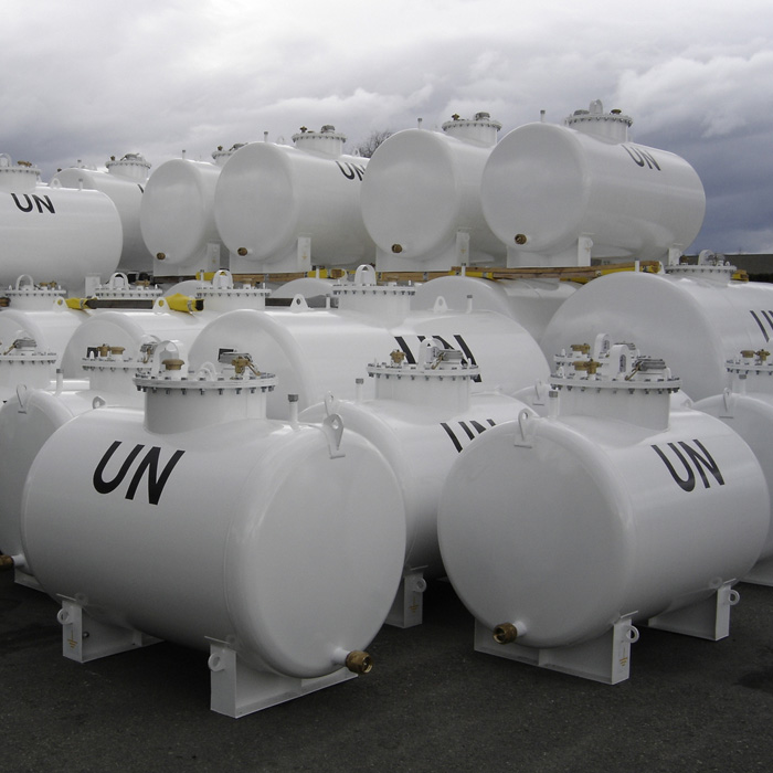 Generator steel tanks - United Nations