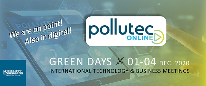 Pollutec online - Green days 2020 virtual edition