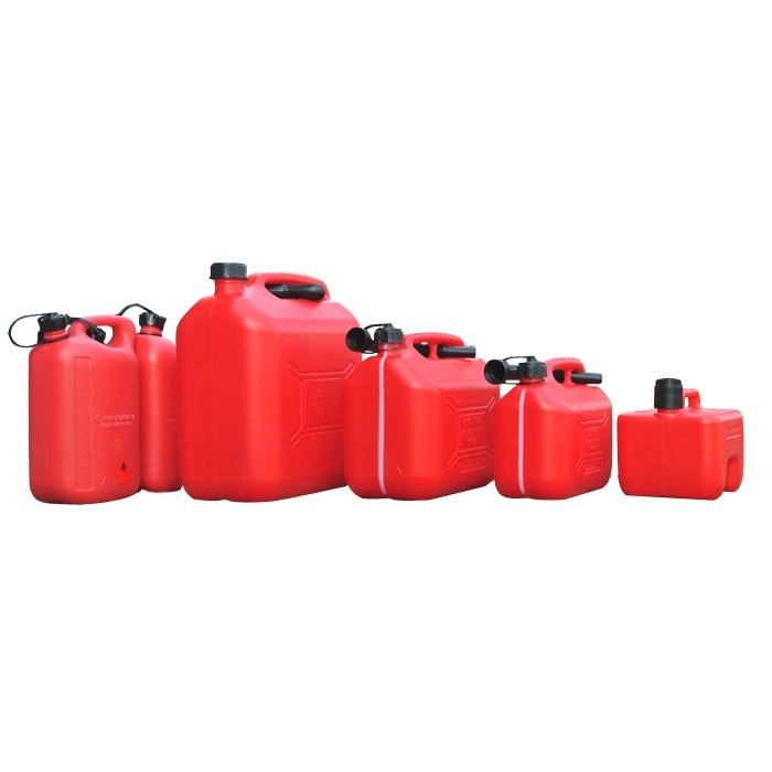 Steel and PVC Jerrycans